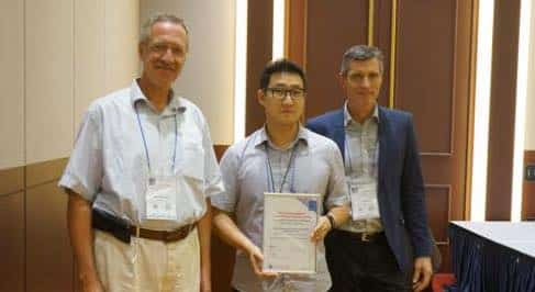 Rasso Steinmann, Chapter Representative Woonjae Lee and Jan Karlshoej