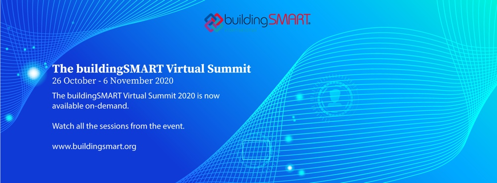 buildingSMART International delivered two virtual summits.