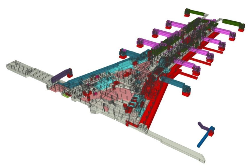 (IFC generated data models helped deliver this complex airport project on-time and under budget)