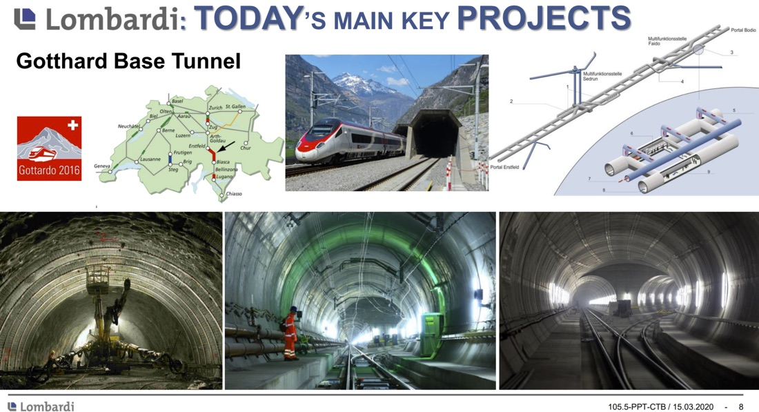 Lombardi – Experts in Tunnelling Projects – Rita Sanfilippo